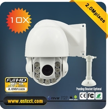 Sony 322 Sensor 2.0MP Full HD Mini IP PTZ Camera 4inch Ourdoor & Indoor 10x Zoom IR Speed Dome Camera Support Onvif