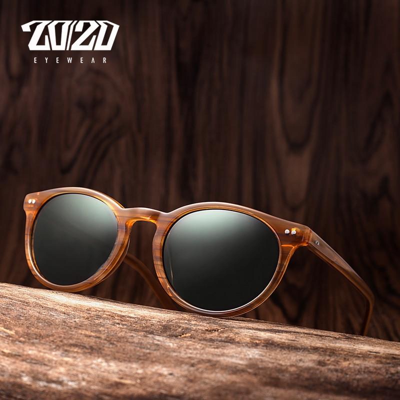 3a84659b94 20 20 Brand Classic Men Polarized Sunglasses Women Retro Acetate Eyewear  Rivet Shades Unisex Sun. Eyewear τύπος. Γυαλιά ηλίου