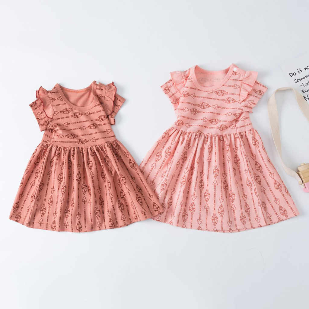 ONTO-MATO 2019 Baby Kids Girls Toddler Dresses Ruched Cartoon Patchwork Party Princess Dresses Summer Hot Sale vestidos #19713