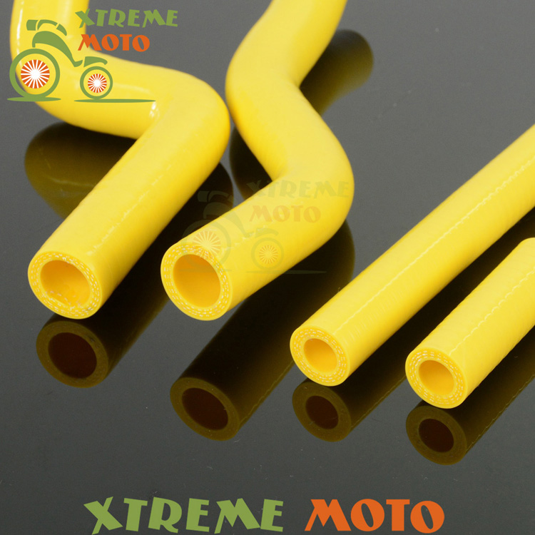 US $16 99 15% OFF|Silicone Radiator Coolant Hose For Suzuki RM125 RM 125 01  08 MX Enduro Motorcycle Motocross Racing Dirt Bike Off Road-in Exhaust &