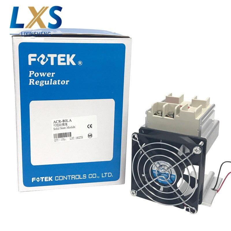 Taiwan FOTEK ACR-80LA régulateur de puissance/Thyristor régulateur de puissance/contrôle linéaire type module à semi-conducteurs