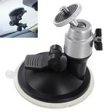 """Автомобильный гибкий держатель на присоске для лобового стекла, крепление на окно для автомобиля, крепление на 1/"""" штатив для камеры, видео DVR, gps"""
