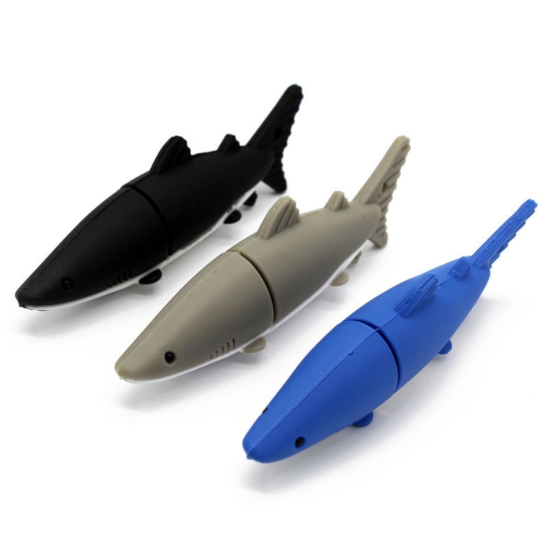BiNFUL U Disk 64GB Pen Drive Shark Style 4GB 8GB 16GB 32GB Usb Flash Drive
