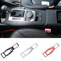 Für Audi A3 2013 2014 2016 Auto Getriebe Shift Rahmen Aufkleber Dekorative Carbon Fiber Innen ZU Getriebe Abdeckung Auto Styling-in Kfz Innenraum Aufkleber aus Kraftfahrzeuge und Motorräder bei