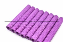 8pcs M3*35mm Purple Netted Pattern Carving flower Aluminum Standoff For RC Multirotors For Racing Cross Drones Quadcopters
