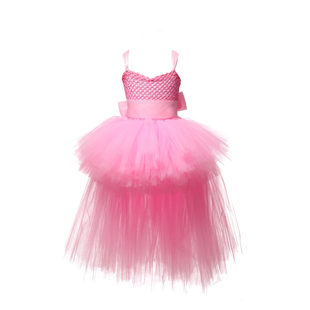 Black Girls Tutu Dress Tulle V neck Train Girl Evening Birthday Party  Dresses Kids Girl Ball Gown Dress Halloween Costume 2 8Y-in Dresses from  Mother   Kids ... 40d6f6c04ced