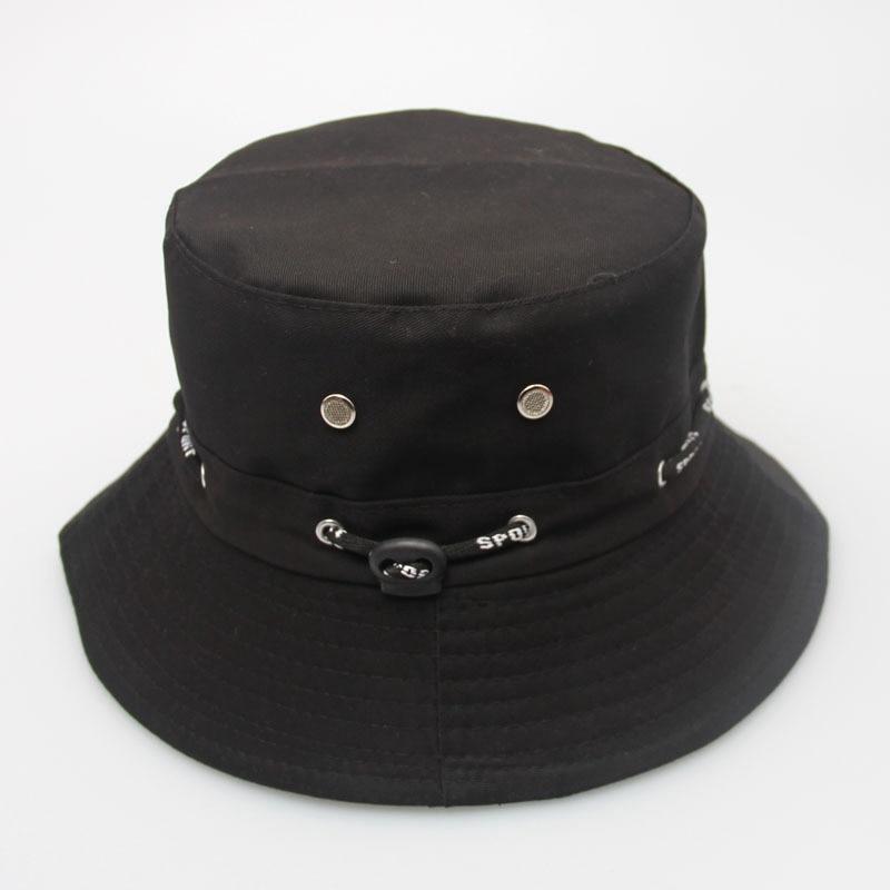 2016 new cotton unisex women sun hat fishing bucket cap for Womens fishing hat