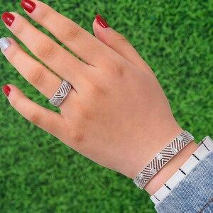 Image 3 - Godki Luxe Trendy Saudi Arabië Bangle Ring Set Sieraden Sets Voor Vrouwen Bruiloft Engagement Brincos Para Als Mulheres 2019