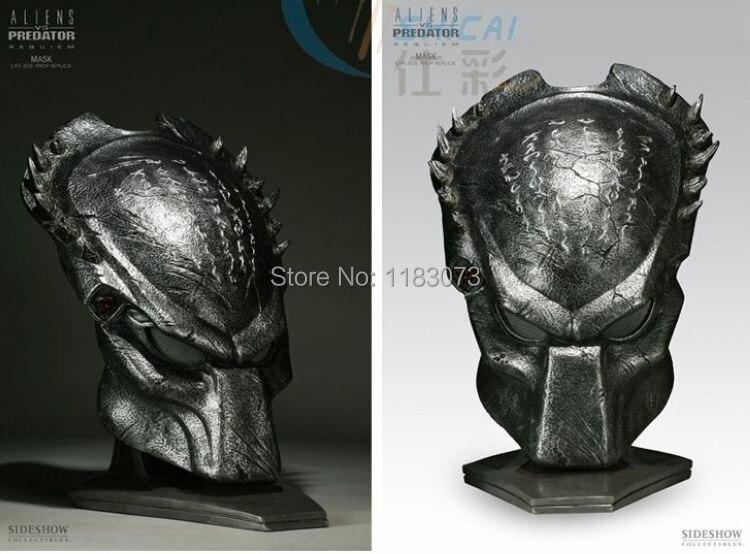 Alien VS Predator Warrior Deluxe Movie Alien Mask Funny Adult Horror Scary Predator Masks Halloween Carnival Masquerade Cosplay