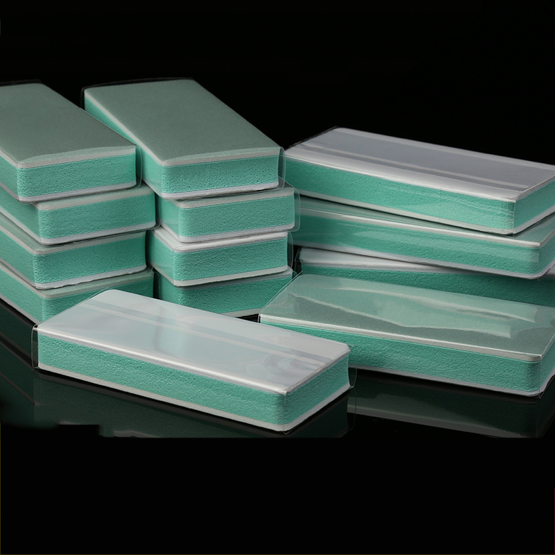 Grit 180 600 1000 3000 7000 Polishing Block Sponge Sandpaper Polishing Block Mirror Polishing Sandpaper,Manicure