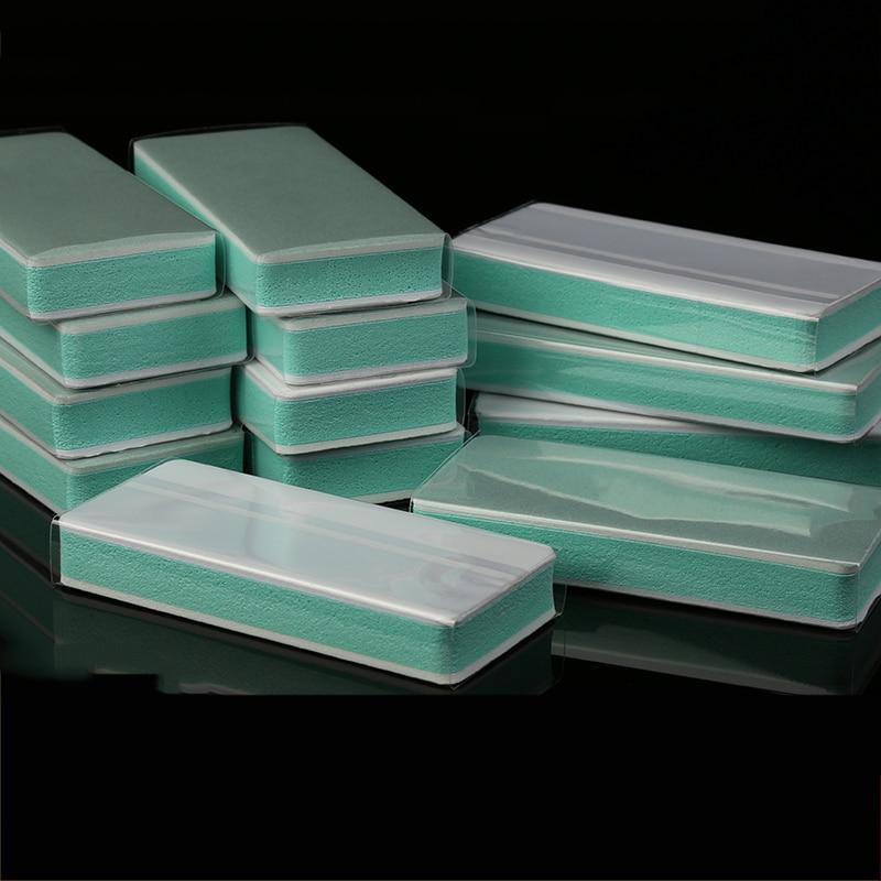 Grit 180 600 1000 3000 7000 Polishing Block Sponge Sandpaper Polishing Block Mirror Polishing Sandpaper,Manicure