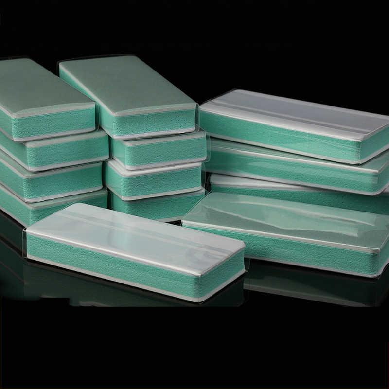 Papier de polissage, bloc de polissage, bloc de polissage, éponge, papier de sable, bloc de polissage, papier de verre pour manucure, 180 600 1000