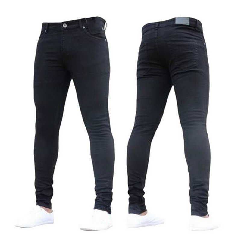 Puimentiua Mens Jeans Pencil D...