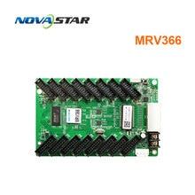 цена hd led screen display receiving card novastar MRV366 Hub75 big control area Novastar receiving card MRV366 512x256 pixel онлайн в 2017 году