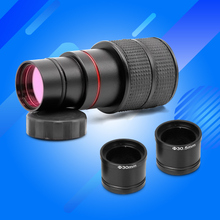 Free Driver 5MP HD USB2.0 CMOS Camera Digital Electronic Eyepiece with 30 mm and 30.5 mm Adapter Ring and Micrometer