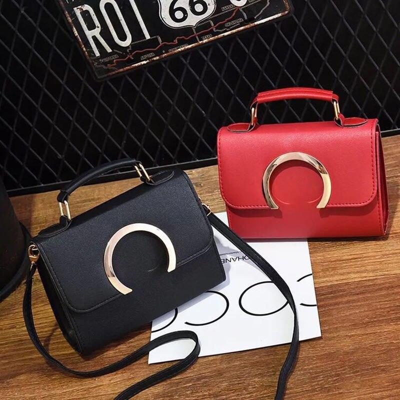 Новые модные повседневные кожаные сумки лоскут высокое качество кольцо Дамы вечеринку кошелек клатчи женщины Crossbody eveni