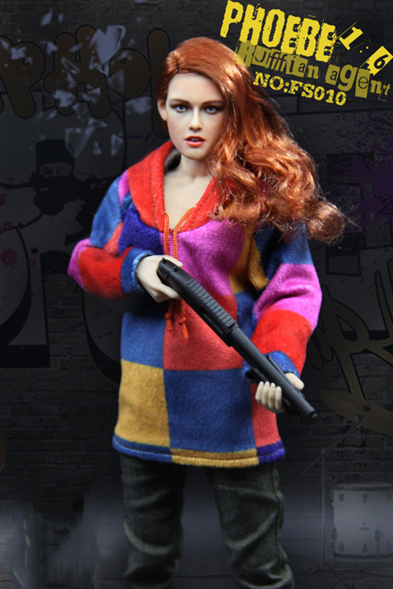 1/6 FS010 Phoebe Agent Kristen Stewart American Ultra Movie Full Sets Figure ...