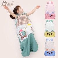 Baby Sleeping Bag Newborns Cotton Summer Children Sleep Sack Infant Sleepsacks Baby Sleep Sacks Swaddle Envelopes