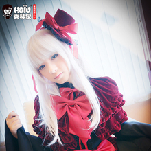 HSIU Anna Kushina Cosplay peruk K anime K proje kostüm oynamak peruk cadılar bayramı kostümleri saç