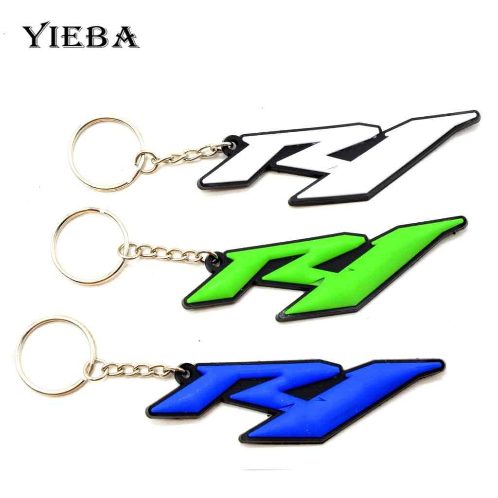 ヤマハ YZF R6 R1 シリーズオートバイファンギフトモト GP アクセサリーキーチェーンストラップ R6 R1 ストラップキーリングキーホルダーバックル