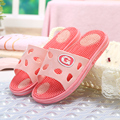 2016 Summer lovers Women and Men slippers home soft slip plastic bath leisure Women and Men massage home cool slippers