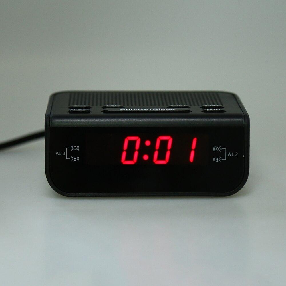 2017 Modern Design Alarm Clock FM Radio | Gadgets Mine
