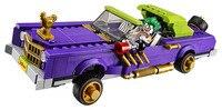 LEPIN Batman Series The Joker Notorious Lowrider Building Blocks Bricks Movie Model Kids Toys Marvel Compatible