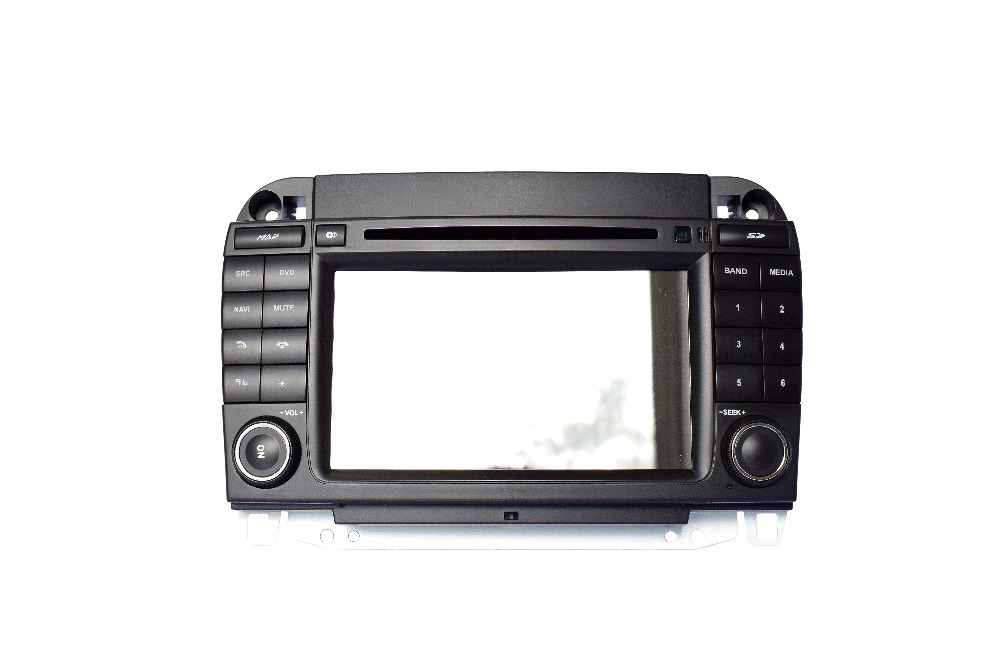 S190 touch screen android 7 1 car dvd player for Benz S class old wifi 3G