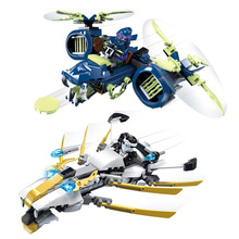 New Style JX80002 Ninja Zane/Wrayth Battle Fighter Minifigures Building Block Minifigure Toys Compatible with Legoe