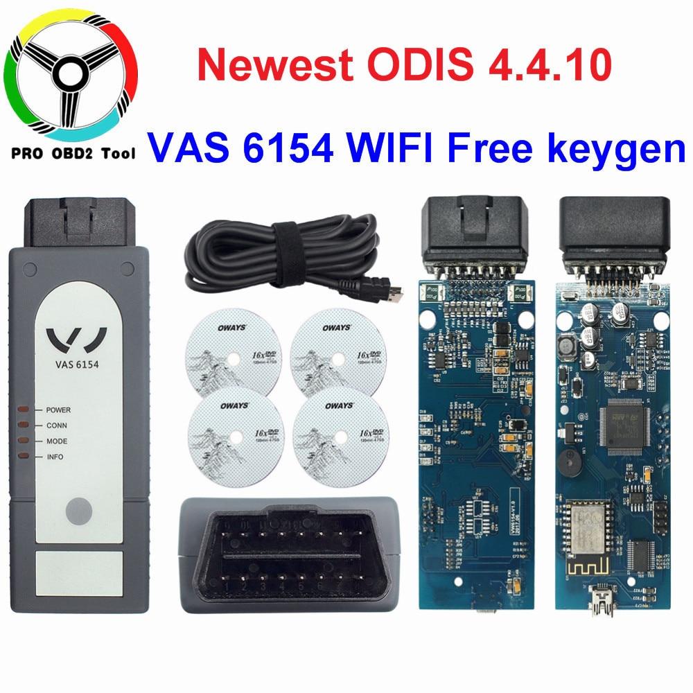 Date ODIS V4.4.10 VAS 6154 OKI Plein Puce VAS6154 WIFI et Bluetooth Pour Audi et Skoda Mieux Que VAS5054 Soutien UDS Pour VAG
