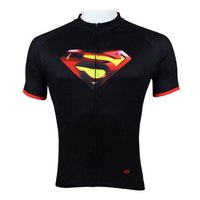 TopSpeed Superman Bisiklet Giyim Bisiklet Giysileri Bisiklet Kısa Kollu Jersey Spor Sürme Nefes Gömlek Ücretsiz Kargo