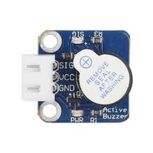 SunFounder Active Buzzer Alarm Module Sounder Speaker Buzzer for Arduino Smart Car +3-Pin Anti-reverse Cable