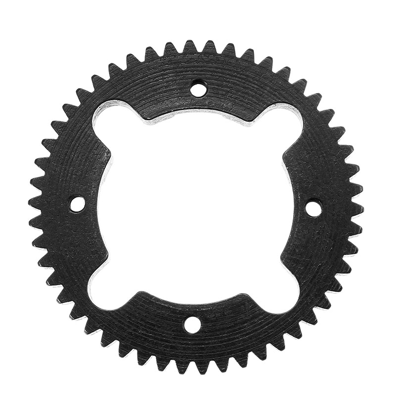 High Quality 52T Steel Center Diff Spur Gear ET1096 RC Car Parts For Truggy Buggy Short Course