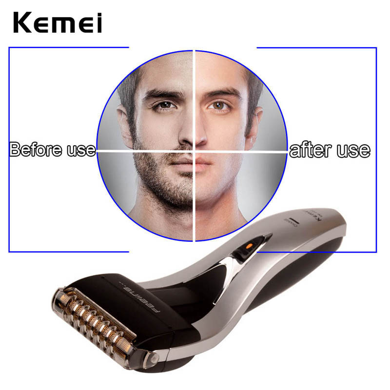 Rechargeable Reciprocating Blade Shaver Professional Electric Shaver Sideburns Trimmer Moustache Razor Barbeador Machine face334 philips brl130 satinshave advanced wet and dry electric shaver