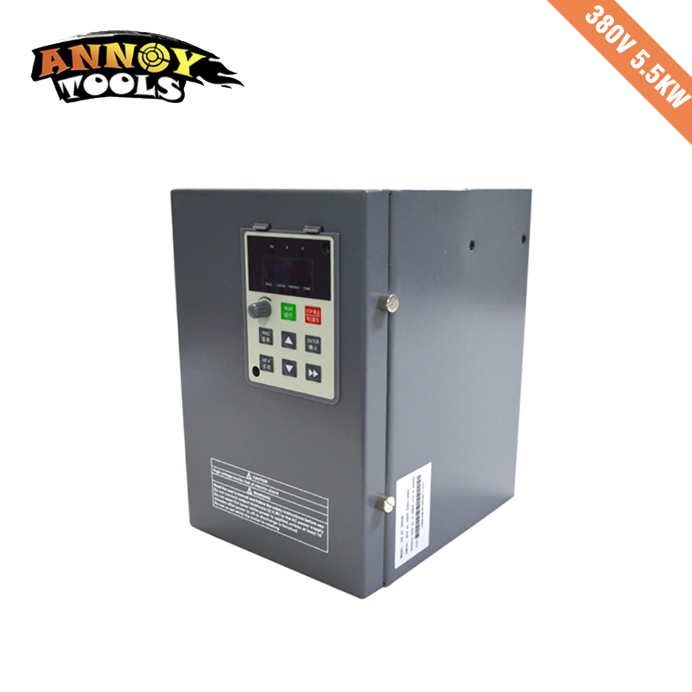 380V 5.5kw 13A Frequency Drive Inverter CNC Driver CNC Spindle motor Speed control,Vector converter