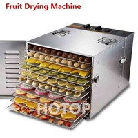 Professional Commercial 980W Food Dehydrator Fruit Vegetable Herbal Meat Drying Machine Snacks Food Dryer Fruit Dehydrator