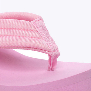 Image 4 - Новинка; Летние пикантные женские тапочки; Женские шлепанцы для отдыха; Пляжные шлепанцы на высокой платформе; Модная обувь; Повседневные женские сандалии