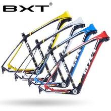 2017 marca BXT T800 de carbono mtb marco 29er mtb de carbono marco 29 de carbono marco de la bici de montaña 142*12 o 135*9mm de la bicicleta marco