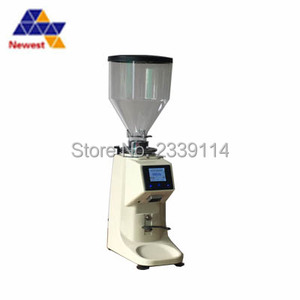 Image 5 - LD 022 professional coffee grinder/with Stainless steel disc / touch screen/coffee bean grinder/espresso coffee grinder
