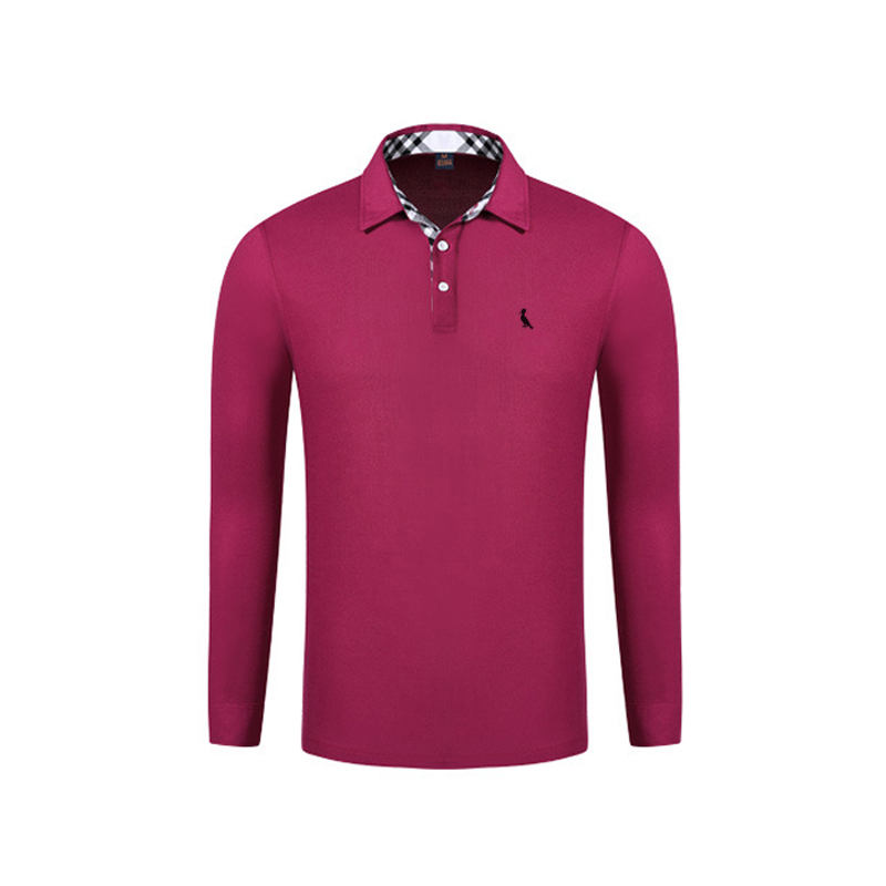 2017 Fashion Sergio K Top Quality Solid Color Men Polo Embroidery