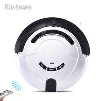 Klinsmann Intelligent Robot Vacuum Cleaner Slim HEPA Filter Cliff Sensor Remote Control Self Charge KRV209 ROBOT