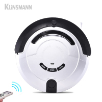 Klinsmann Intelligent Robot Vacuum Cleaner Slim HEPA Filter Cliff Sensor Remote Control Self Charge KRV209 ROBOT