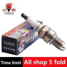 4pcs/lot China original TORCHNickel alloy spark plugF6RTCfor LADA Priora/Granta/Nadezhda/Niva/Niva Chevrolet,etc.