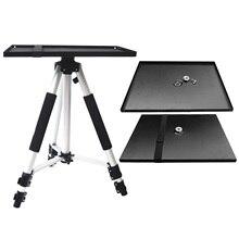 Besegad 39x29 cm Universal Metal Tray Stand Glasplaat Platform Houder voor 3/8 inch Statief Projectoren Monitoren laptops