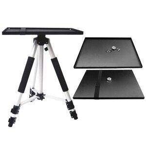 Image 1 - Besegad 39x29 cm Universal Metal Tray Stand Glasplaat Platform Houder voor 3/8 inch Statief Projectoren Monitoren laptops