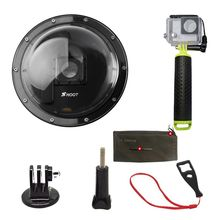 Top Deals Shoot 6 inch Dome Port with Waterproof Case for GoPro Hero 3+ 4