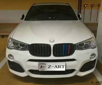 X4M body kit for BMW X4 F26 for BMW F26 tuning body kit free shipping by express for BMW X4 2014-2017 PP plastic Tuning kit diffuseur arrière carbone bmw x4 f26