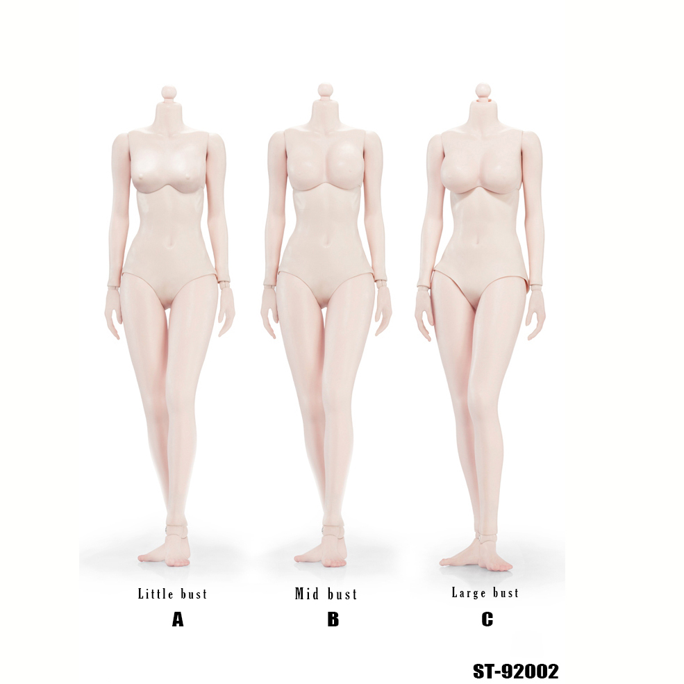 1/6 Female Body Figure Pale Color XING Series 92002 1.0 Super flexible With Steel Skeleton 3 bust For Most Head Sculpt p80 panasonic super high cost complete air cutter torches torch head body straigh machine arc starting 12foot
