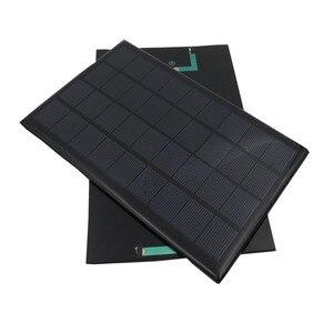 Image 4 - 9V 3W 330mA GÜNEŞ PANELI taşınabilir Mini Sunpower DIY modülü paneli sistemi için güneş lamba pili oyuncaklar telefon şarj cihazı güneş hücreleri
