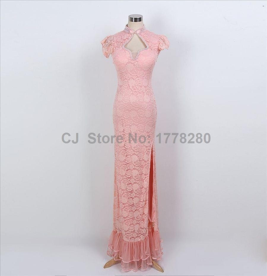 Marsala gran vestido gatsby árabe ombre de novia de pescado madrina ...